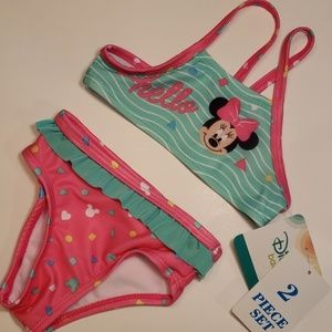 Minnie Mouse infant bikini